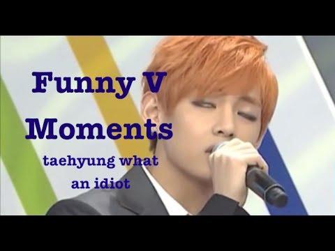 Funny Moments   BTS V (Bangtan Bomb, Weekly Idol, Interviews, Rookie King)