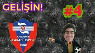 Oyuncular gelişiyor.OSM Karabükspor Kariyeri #4