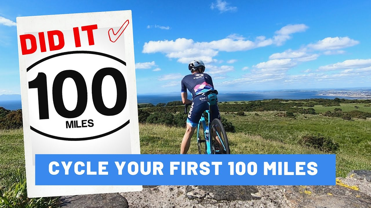 How to ride 100 miles with limited fitness