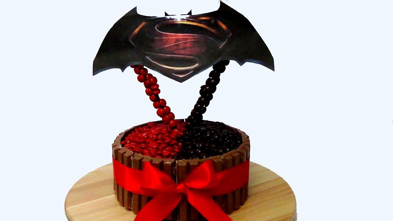 how to make batman v superman cake youtube rh youtube com batman emblem cake pan batman emblem cake pan