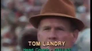 Superbowl XIII Dallas Cowboys vs Pittsburgh Steelers