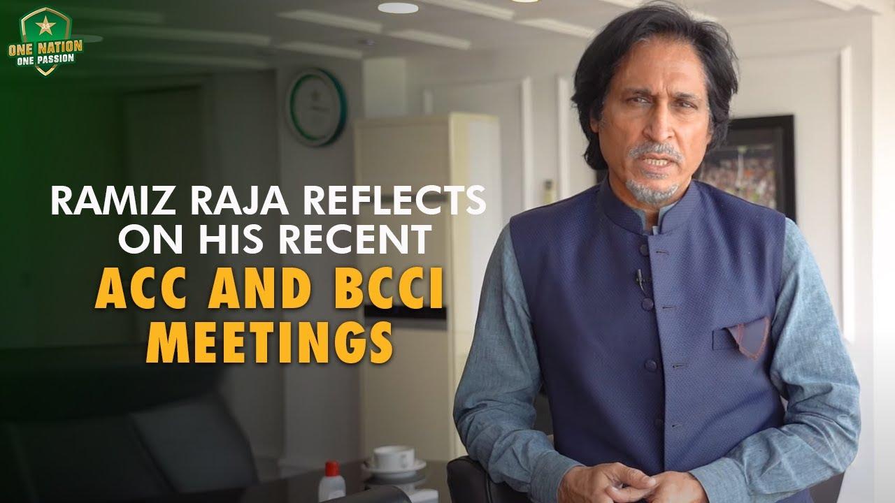 PCB Chairman Ramiz Raja Reflects On His Recent ACC And BCCI Meetings | PCB | MA2T