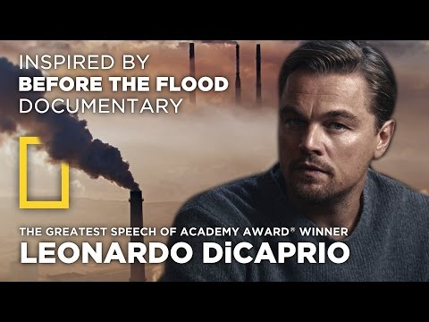 The Greatest Speech Of Leonardo DiCaprio | Climate Change | by MirekLeFou