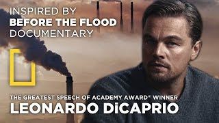 the greatest speech of leonardo dicaprio climate change by mireklefou