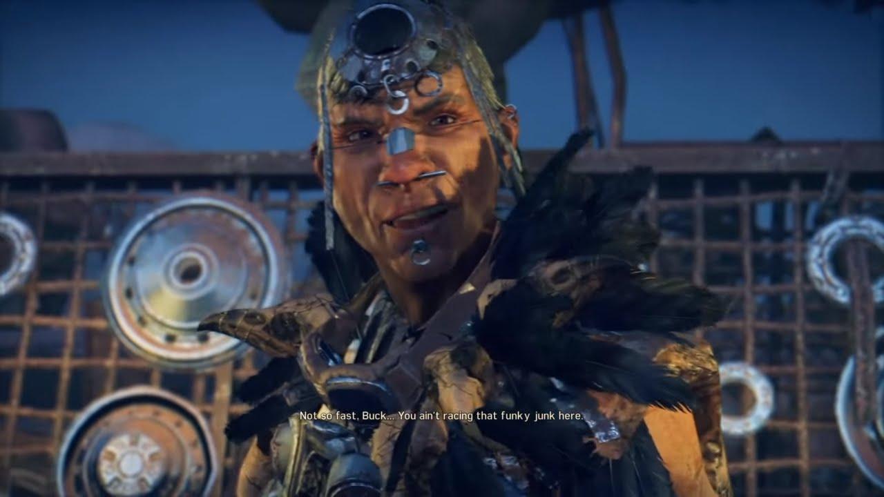 Mad Max Game Crow Dazzle And Tenderloin Cutscenes Youtube