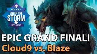 ► EPIC Heroes of the Storm Pro Gameplay: Cloud9 vs. Blaze - ETS NA Grand Final