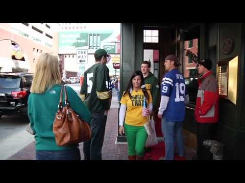 On The Road: Packers At Colts 2012