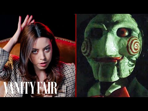 WATCH: Aubrey Plaza Reviews Creepy Dolls From Movies and Television