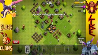 Clash Of Clans | Comienza una era... | #6 [ Atacar con Arqueras ] nivel bajo*