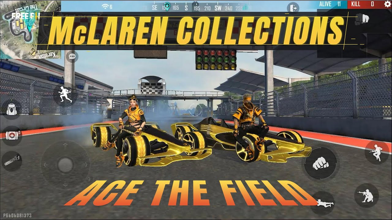 More McLaren x Free Fire Collections For You