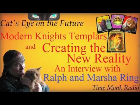 Modern Knights Templar ... with Ralph and Marsh Ring   ~  Cat's Eye on the Future - DCS4082