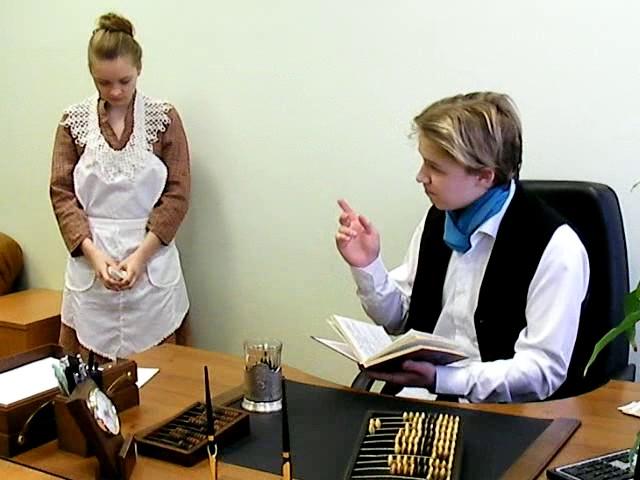 Изображение предпросмотра прочтения – ЛилияТоирова представляет буктрейлер кпроизведению «Размазня» А.П.Чехова