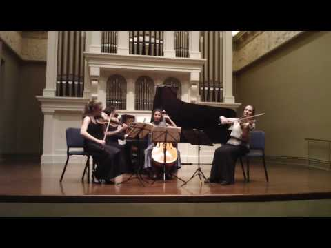 Trio Appassionata and violist Maria Lambros play Fauré's Piano Quartet No. 1 in C minor, Op.15
