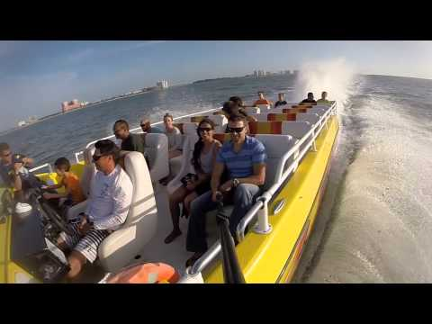 Thriller boat ride Clearwater, Florida