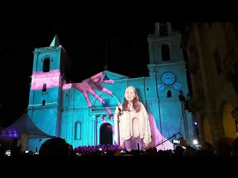 Valletta 2018 St. John Co Cathedral Spectacle 20th Jan 2018