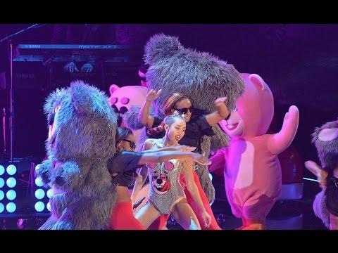 Miley Cyrus VMAs Performance Backup Dancer Left
