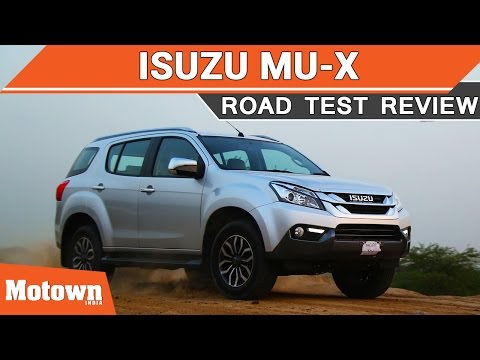 Isuzu mu-X 4-wheel drive Road Test Review