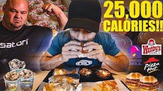 The 25,000 Calorie Strongman Challenge!