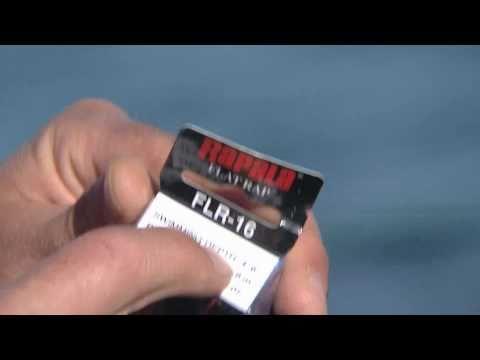 Tips on fishing lures - Rapala Flat Rap 16 catches big fish!