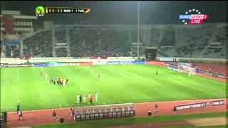 الشوط التاني مبارات المغرب و تونس : كاس افريقيا لااقل من 17 سنة