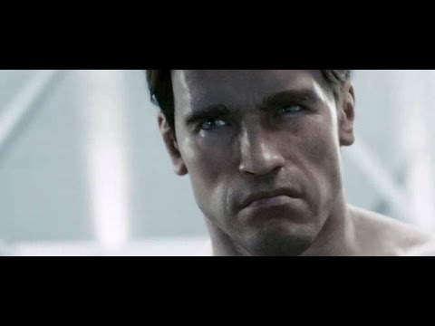 Arnold Schwarzenegger in Terminator Salvation - YouTube