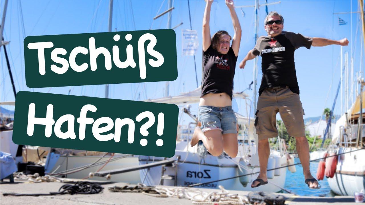 Wir wollen segeln! Wann gehts raus aus dem Hafen?   Wir segeln 84