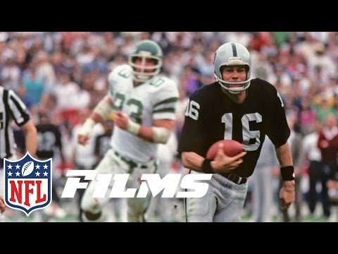 #3 Jim Plunkett Leads First Wild Card Team to Win Super Bowl | Top 10 Player Comebacks | NFL Films
