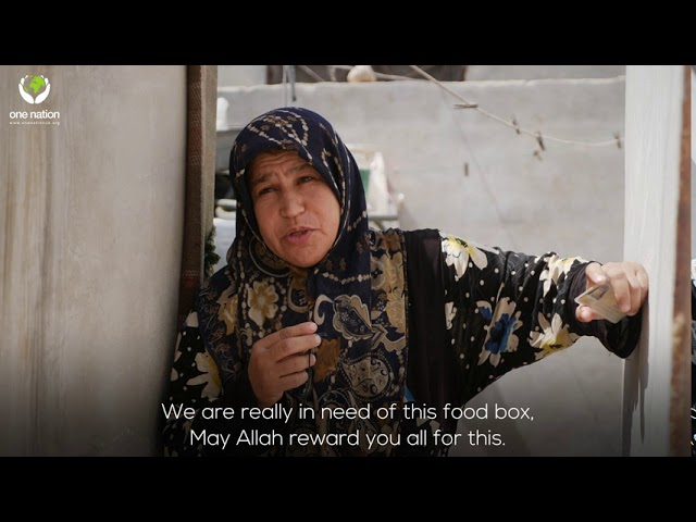 Food Parcels Distribution In Syria