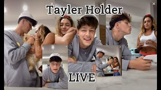 Tayler Holder w Sommer Ray LIVE On Tiktok 06/27/20