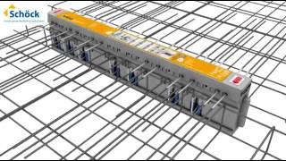 Schöck Isokorb® T K elem beépítése