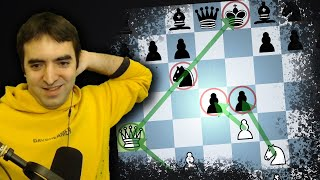 Even strong players fall for this Ponziani Opening trick!