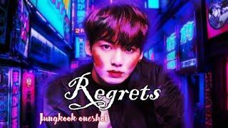"[BTS Jeon Jungkook] Sad/fluff Oneshot | ""Regrets"" [3k subs special]"