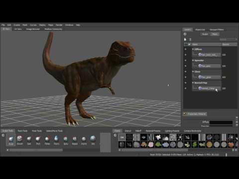 Working with Mudbox and Autodesk® Maya® Tutorial