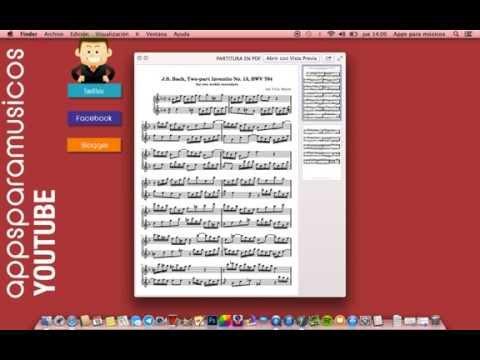 PDFtoMusic Pro (Blog Apps para músicos)