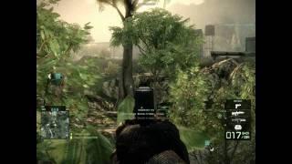 Battlefield Bad Company 2 STG .77 AUG  & M1A1 Abrams Tank Gameplay in HD =DmC=