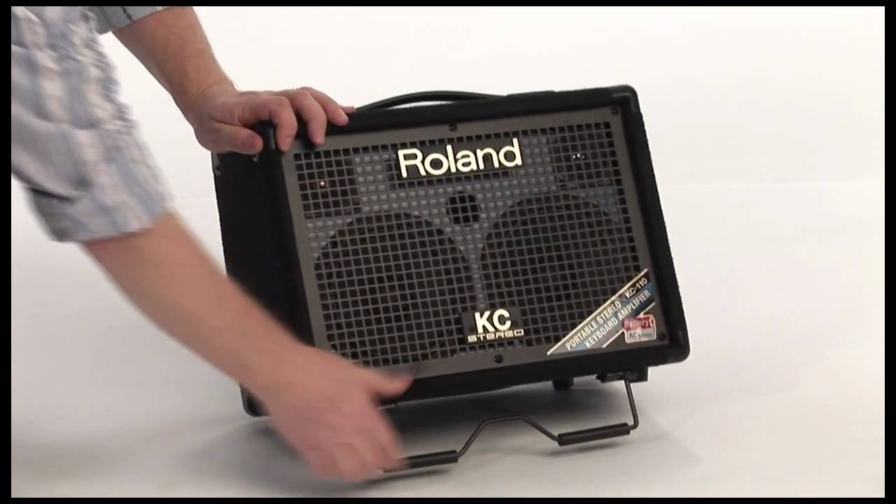Roland Kc 110 Stereo Keyboard Amplifier Guitar Or Music Home Powered Subwoofer Video Library