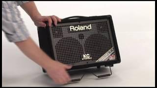 KC-110 Battery Powered Keyboard Amplifier Overview