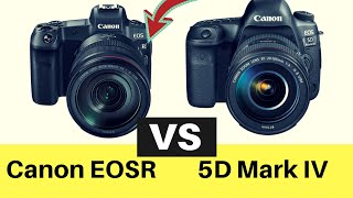 Canon EOS R vs EOS 5D Mark IV Cual es la Mejor? Comparacion