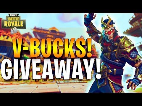 🔴 151 Solo Wins - V-Bucks Giveaway - Fortnite Battle Royale! (150 Likes!?)