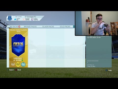 THE 1 MILLION COIN PACK!!! Fifa 16 Team Of The Year Pack Opening