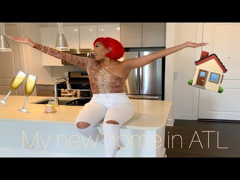 I MOVED TO ATL!!! | EMPTY HOUSE TOUR