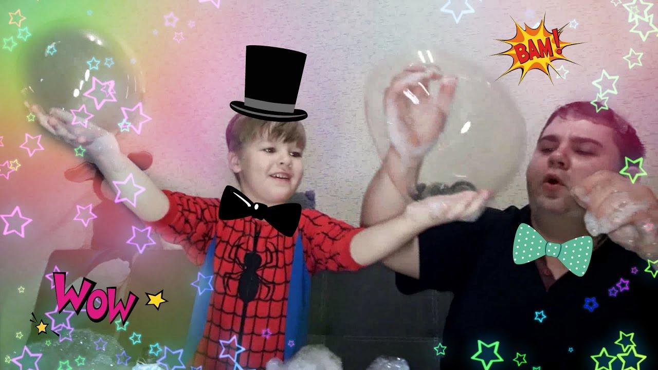 Пенная вечеринка для детей своими руками