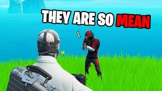 Ikonik Skin Gets Bullied For Being A Rich Kid... (Fortnite)