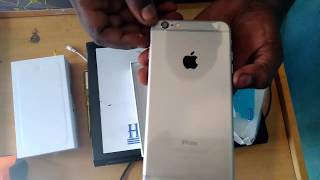 UnBoxing iPhone 6 plus Bought From  AliExpress