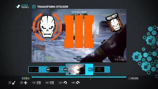 Black ops 3 Beta ps4 sharefactory theme