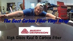 The Best Carbon Fiber Wrap (Avery Dennison Real D Carbon Fiber vs 3m carbon Fiber) Bronco Hood