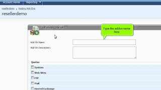 How To Create Hosting Account Add-ons In Websitepanel (www.webpromo-inc.com)