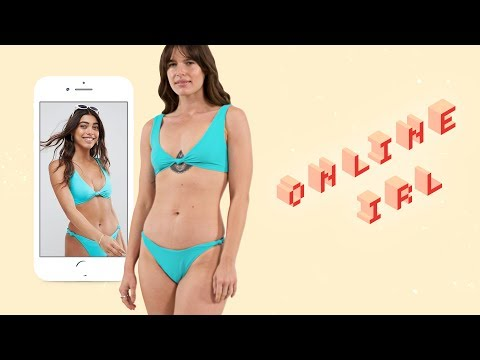 6d9f53b0721 This Is What ASOS Swimwear Looks Like on a Size 8 in Real Life | Online,  IRL | ELLE - YouTube