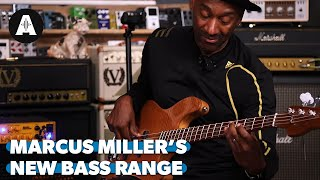 Marcus Miller demos the all new Sire V10 Models - Their Best Basses Yet!