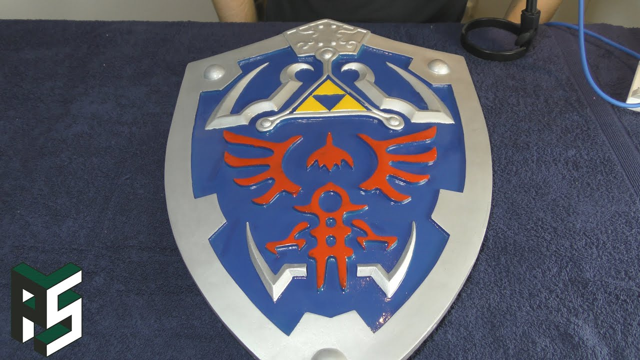 Armory Replicas Hylian Shield Review Pixel Spank Youtube
